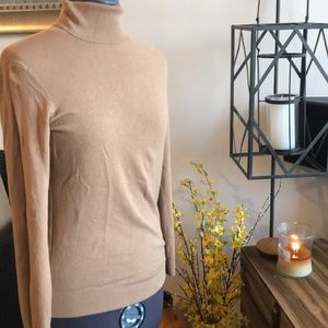 Camel mid weight long sleeve  sweater
